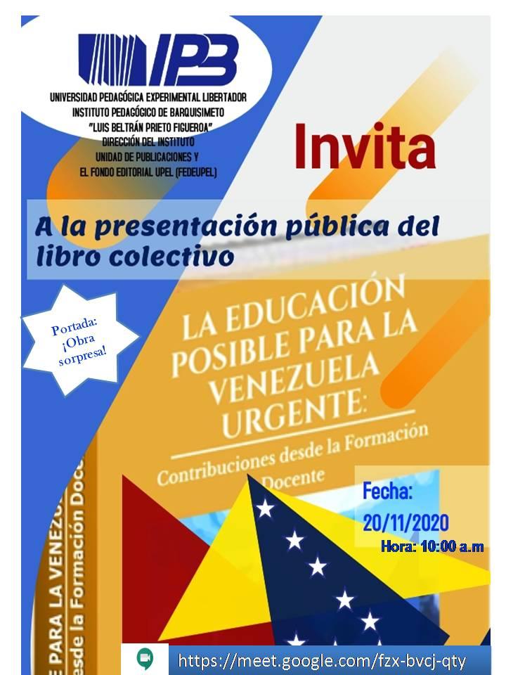 La Educación Posible para la Venezuela Urgente